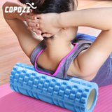 COPOZZ Column Yoga Block Fitness Equipment Pilates Foam Roller Fitness Gym Exercises Muscle Massage Roller Yoga Brick Sport Gym