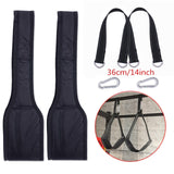 Fitness AB Sling Straps Suspension Rip-Resistant Heavy Duty Pair for Pull Up Bar Hanging Leg Raiser Home Gym Fitness Equipment