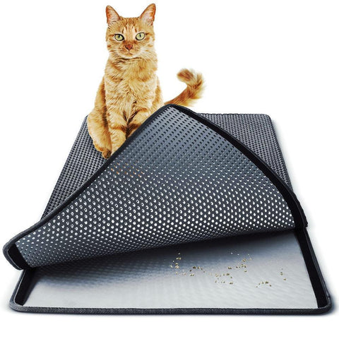 M o n d a y Store Black / Medium SuperbCat™️ Litter Trapping Mat