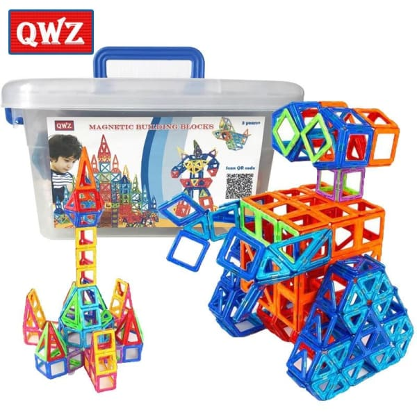 110 pcs Mini Magnetic Building Blocks - Toy