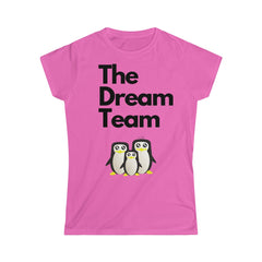 The Dream Team - Pregnancy Announcement Softstyle Tee