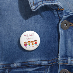 Inspirational pins for kids - We Are One