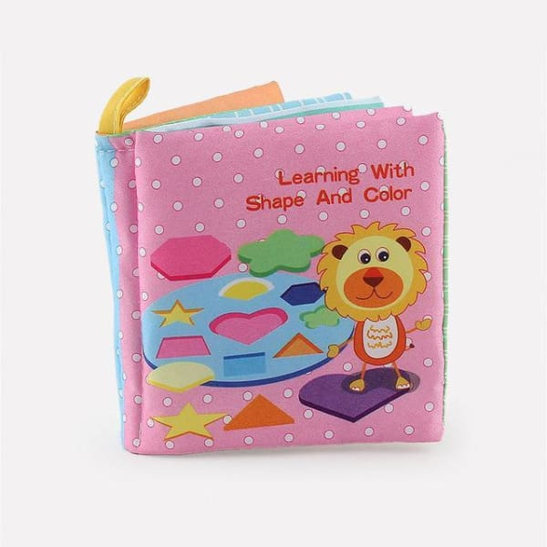 Baby Animal Cloth Book - color 49