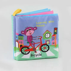 Baby Animal Cloth Book - color 51