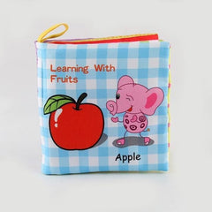 Baby Animal Cloth Book - color 52