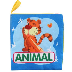Baby Animal Cloth Book - Color 812