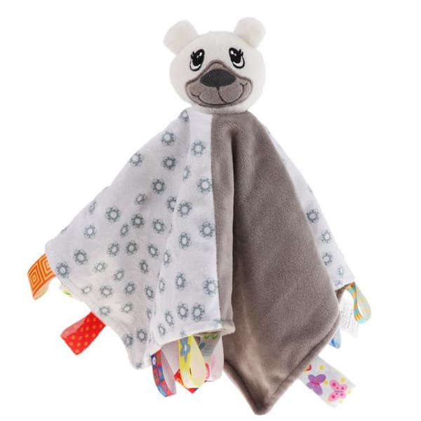 Baby Animal Security Blanket - Bear