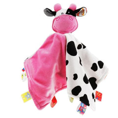 Baby Animal Security Blanket - Cow