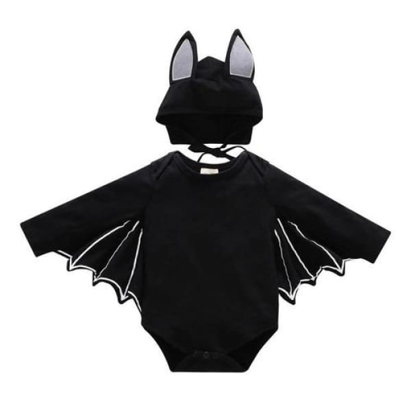 Babys Batman Romper Style - Black / 12M - Other Other