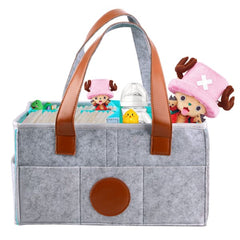 Foldable Baby Diaper Caddy Organizer