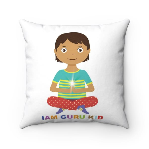 IAM GURU KID Square Pillow - 14x14 - Home Decor All Over Print Home & Living Pillows & Covers