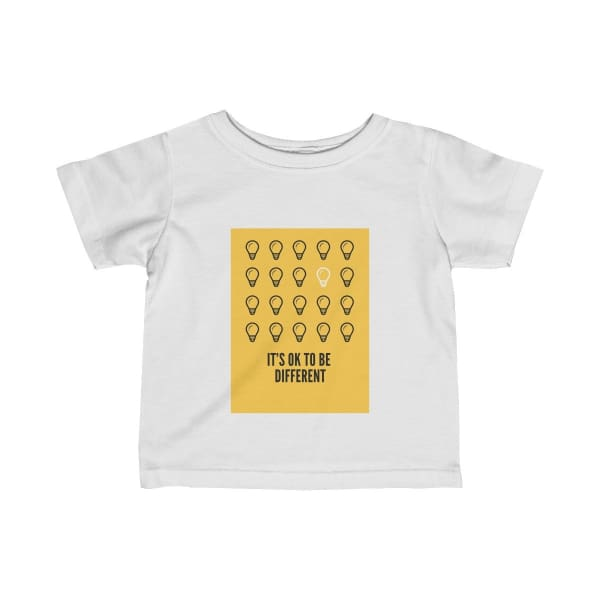 Infant Inspirational T-shirt - White / 18M - Kids clothes Crew neck DTG Kids Clothing Regular fit T-shirts