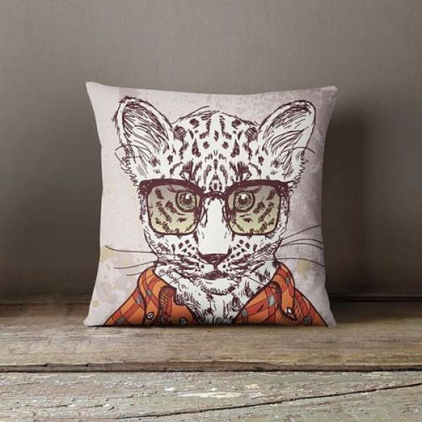 Kids Room Decor Throw Pillow Case Leopard Design - Home & Garden cushion case cushion cover custom pillowcase decorative pillow hipster