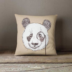 Kids Room Decor Throw Pillow Case - Panda - Home & Garden cushion case cushion cover custom pillowcase decorative pillow hipster animal