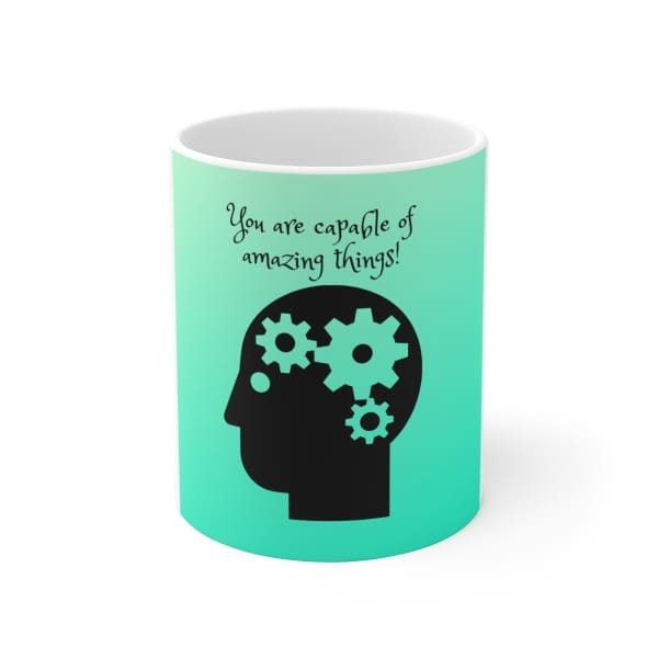 Mantra Mugs for Kids - 11oz - Mug 11 oz 15 oz Home & Living Mugs White base