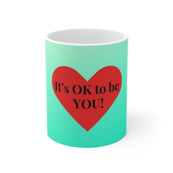 Mantras Mugs for Kids - 11oz - Mug 11 oz 15 oz Home & Living Mugs White base
