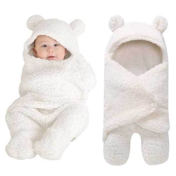 Newborn Cozy Swaddle - White - Kids & Babies Kids & Babies