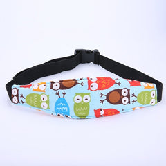 Baby Car Seat Head Support Belt