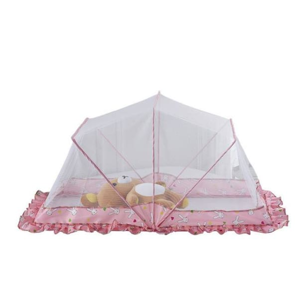 Summer Infant Baby Mosquito Net - pink / 105x60x52cm