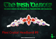Load image into Gallery viewer, Flexi Crystal Headband 9