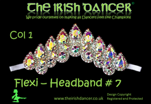 Load image into Gallery viewer, Flexi Crystal Headband 7