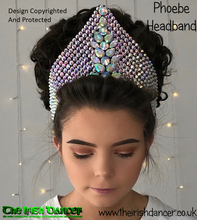 Load image into Gallery viewer, Phoebe Crystal Headband