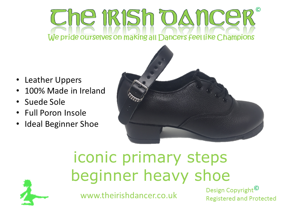 Iconic Primary Steps - Beginners Heavy Jig Shoe