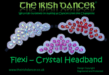 Load image into Gallery viewer, Flexi Crystal Headband 3