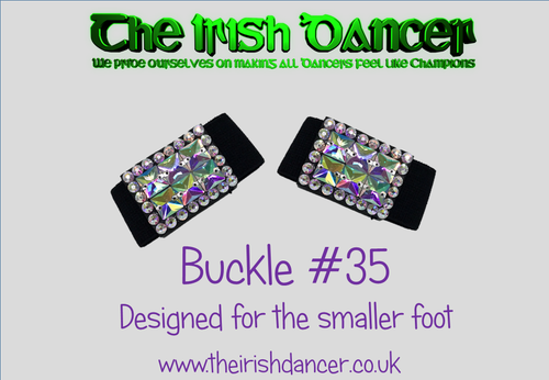 Buckle Style #35 - designed for the smaller foot