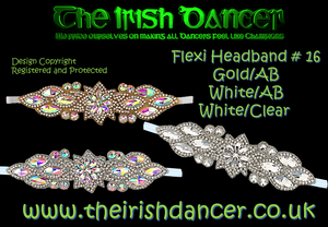 Flexi Crystal Headband #16