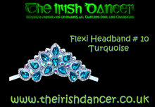Load image into Gallery viewer, Flexi Crystal Headband #10