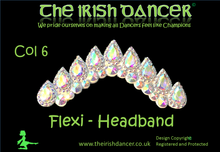 Load image into Gallery viewer, Flexi Crystal Headband 1