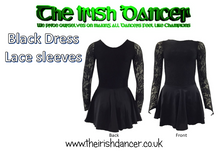 Load image into Gallery viewer, Long Sleeve Dance Leotard/Dress (It is recommended to order a size up)