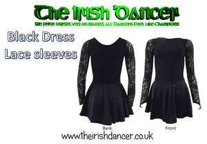 Long Sleeve Dance Leotard/Dress (It is recommended to order a size up)