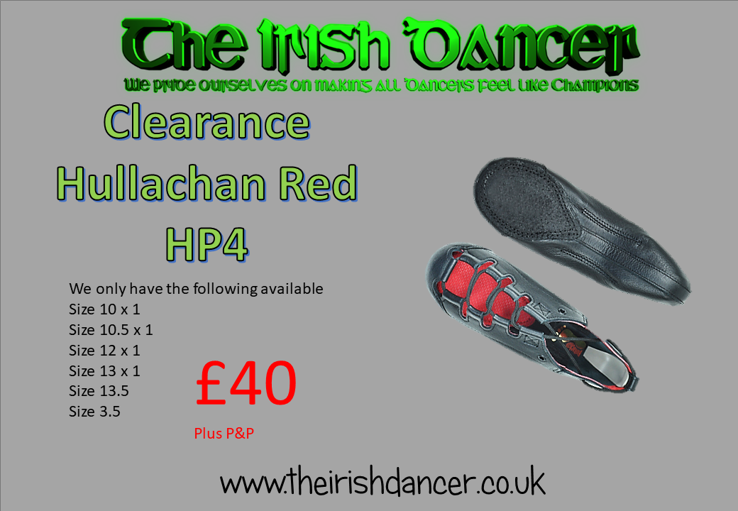 Hullachan Red HP4 Light Shoes - CLEARANCE
