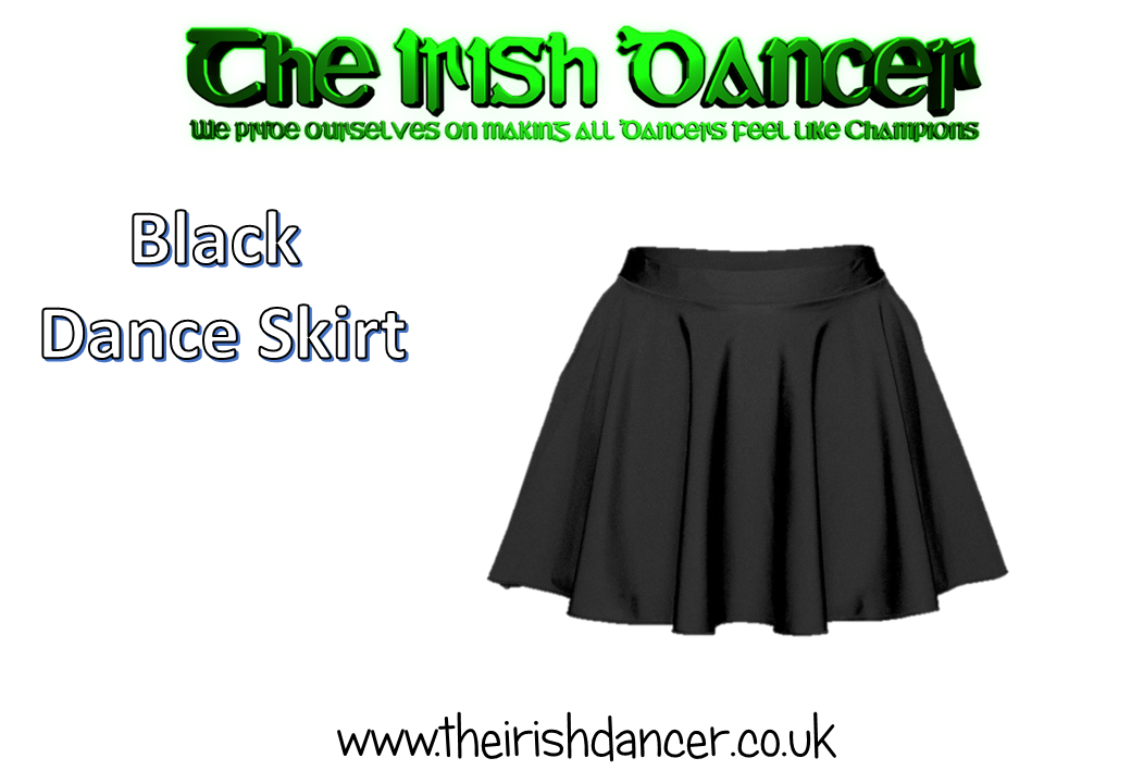 Black Dance Skirt