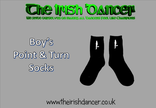 Boy's Point and Turn Socks