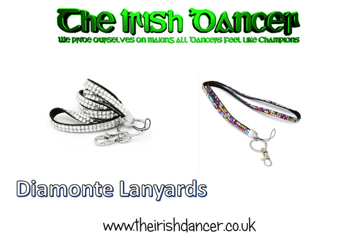 Diamonte Lanyards/Medal Ribbon