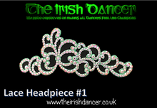 Load image into Gallery viewer, Lace Headpiece #1
