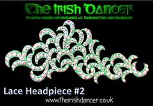 Load image into Gallery viewer, Lace Headpiece #2
