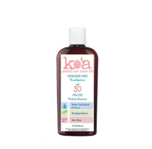 Ko'a Broad Spectrum SPF 30 UVA/UVB Organic Protection Sunscreen