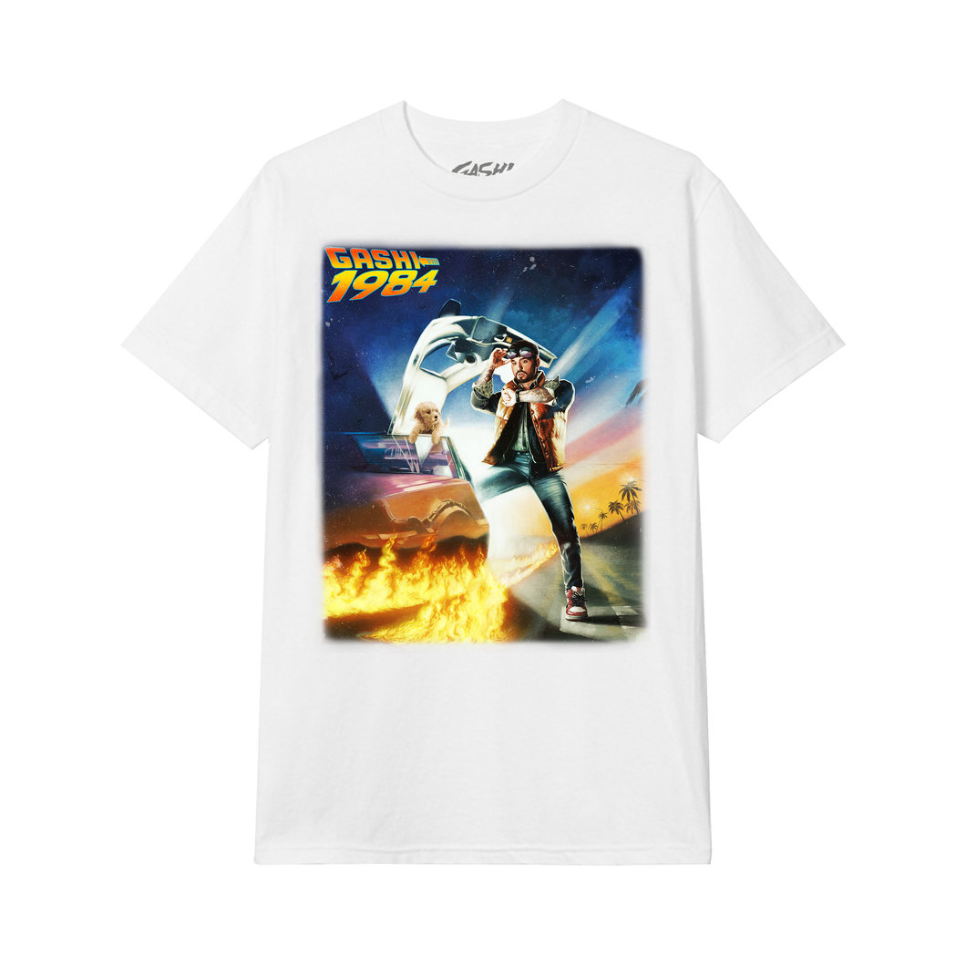 Back to the Future T-Shirt (White)