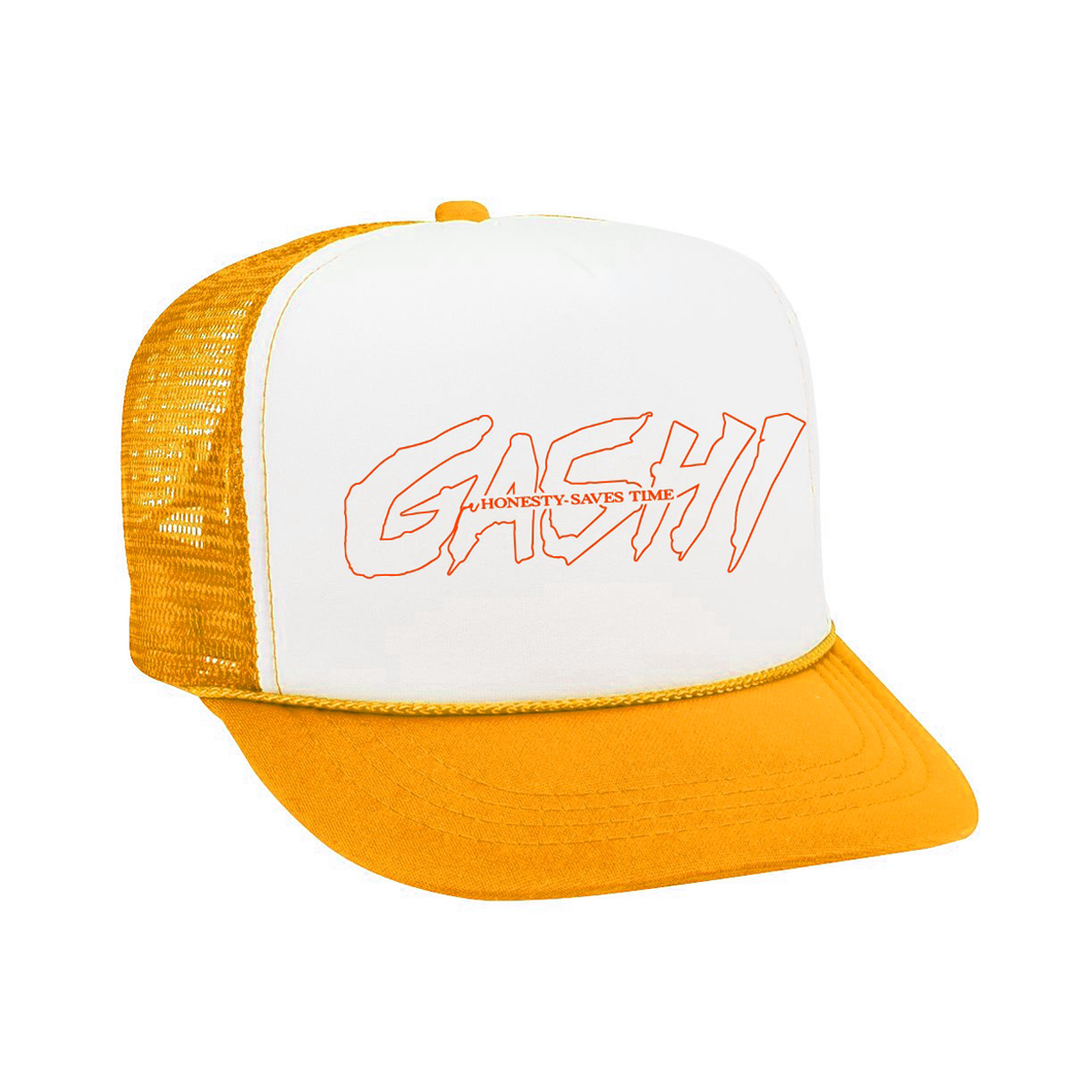 Honesty Hat (Gold/White)