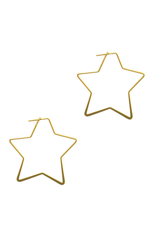Designer Chic Wire Star Earring