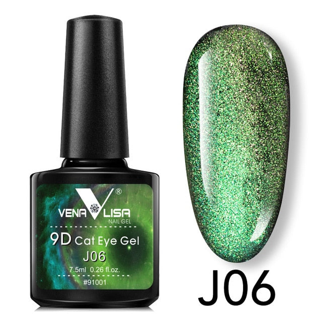 Venalisa™ 9D Galaxy Starry Effect Multicolor Nail Gel Polish