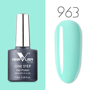 Venalisa™ 3 in 1 One-Step UV LED Soak Off Nail Gel Polish