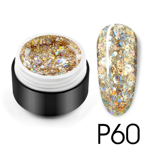 Venalisa™ 2020 Starry Platinum Glitter Effect Nail Painting Gel