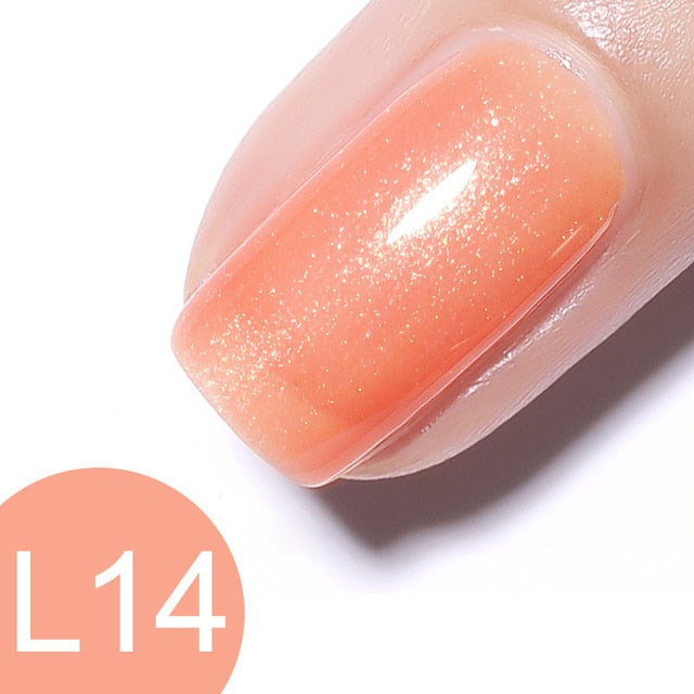 Venalisa™ Jelly Gel Semi-transparent Color Nail Gel Polish