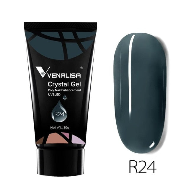 Venalisa™ New 30g Crystal Acrylic Poly Nail Extension Gel