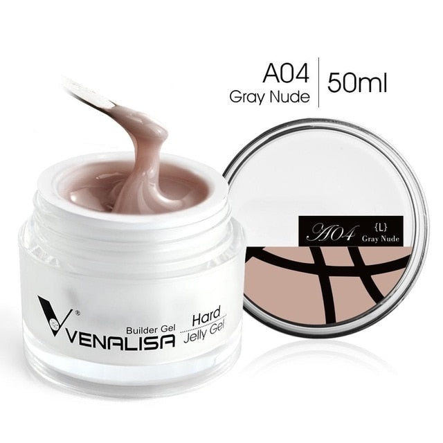 Venalisa™  50ml Nail Extension Builder Hard Jelly Gel
